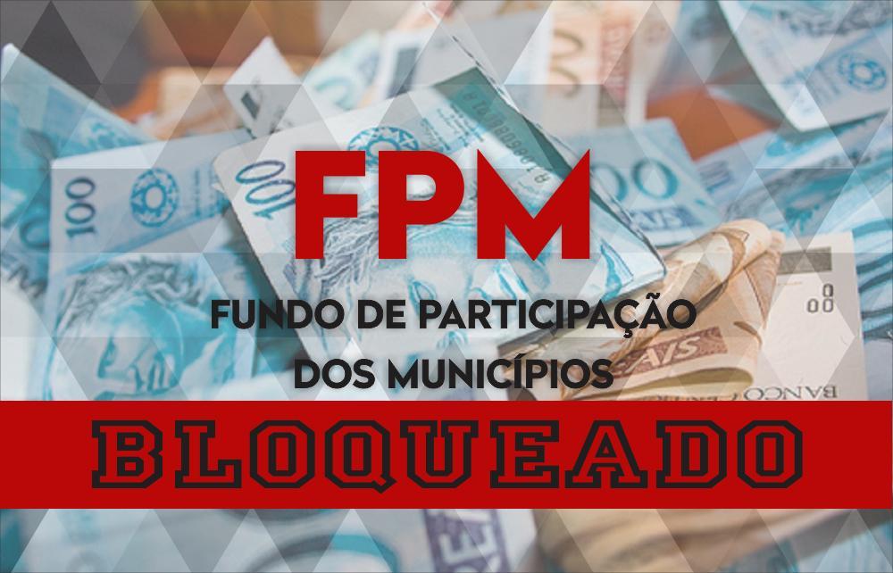 FPM bloqueado devido a não prestação de contas da saúde