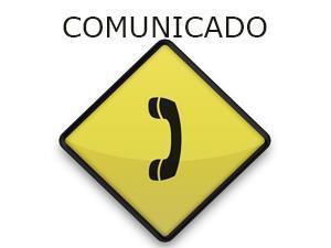 Serviço telefônico padrão da AGM está interrompido temporariamente