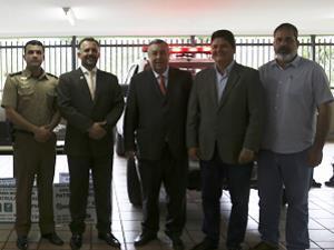 Prefeitos participam do lançamento da Patrulha Rural Georreferenciada