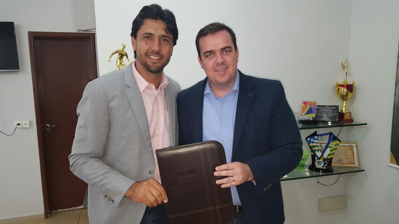 Presidente da AGM se reúne com prefeito de Aparecida de Goiânia