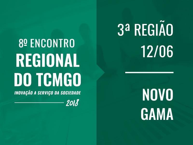 TCM-GO promove o Encontro Regional em Novo Gama