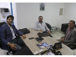 Em visita a AGM, prefeito de Urutaí destaca importância da união dos prefeitos