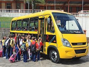 ?Transporte escolar é creditado nas contas municipais