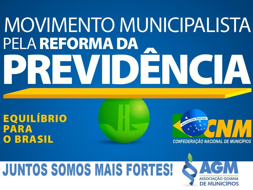 AGM apoia campanha para permanência dos Municípios na Reforma da Previdência