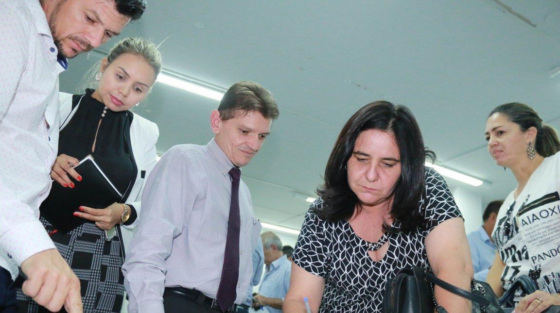 Agehab promove reunião com prefeitos de 15 municípios