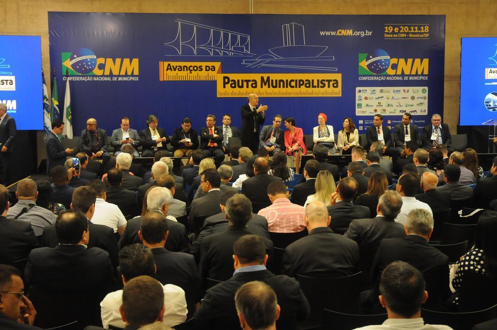 CNM comemora resultados da última Mobilização Municipalista do ano