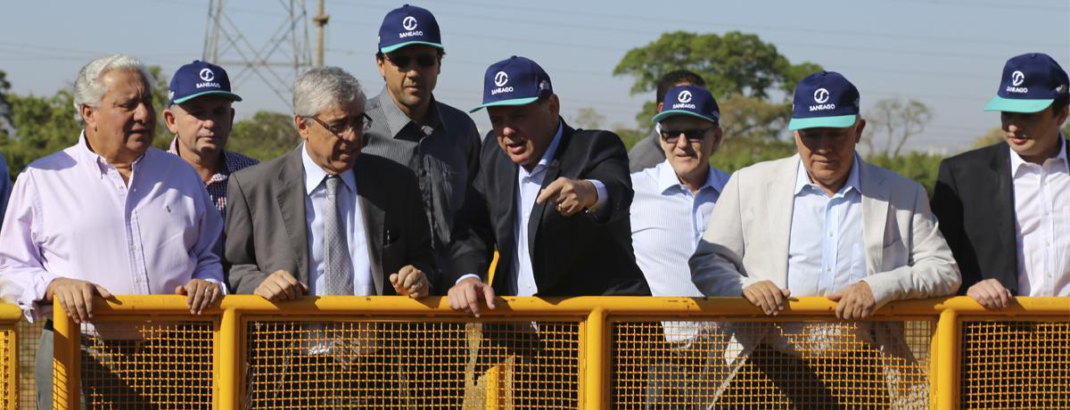 Inaugurado o maior complexo de abastecimento de água da Região Centro-Oeste