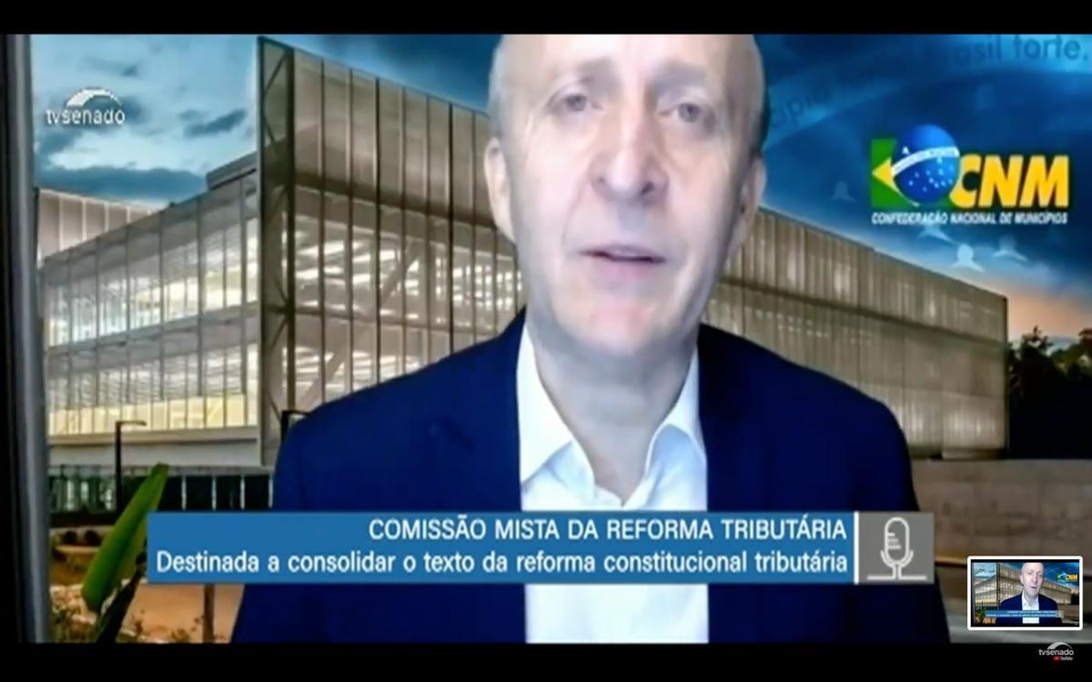Reforma Tributária: Aroldi defende visão municipalista em audiência pública de comissão mista