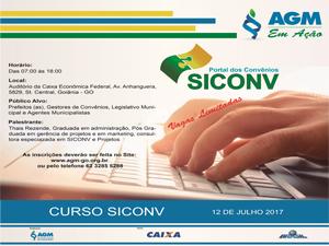 AGM promove Curso sobre Convênios ? SICONV