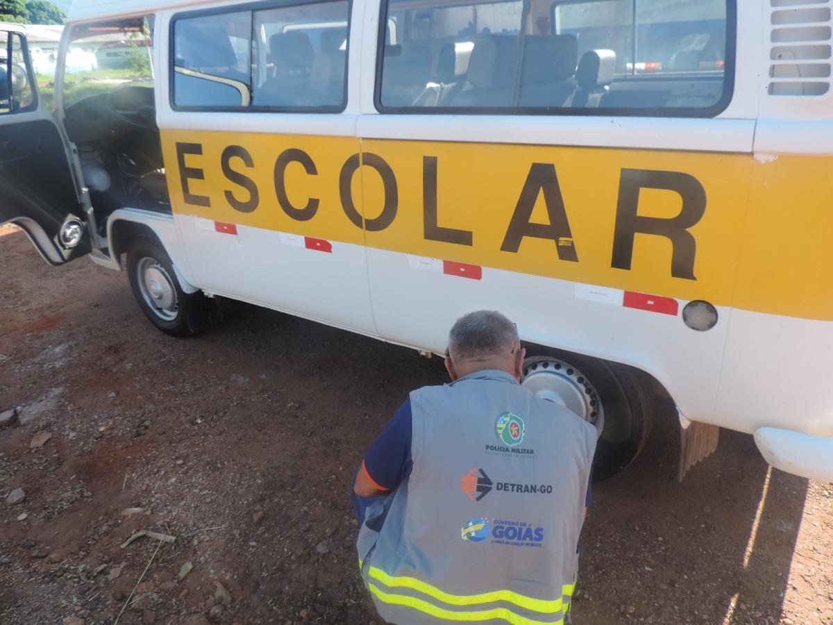 DETRAN-GO começa a vistoriar veículos do Transporte Escolar