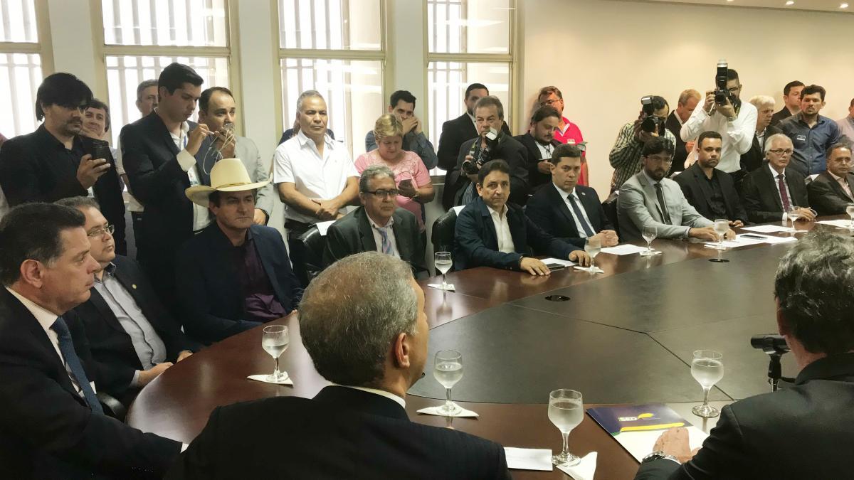 Marconi e Zé Eliton Garantem Instalação e Ampliação Em Empresas que Investirão R$ 717 Milhões no Estado