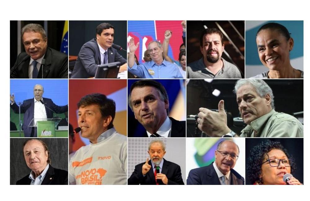 Eleição presidencial terá o maior número de candidatos em 29 anos