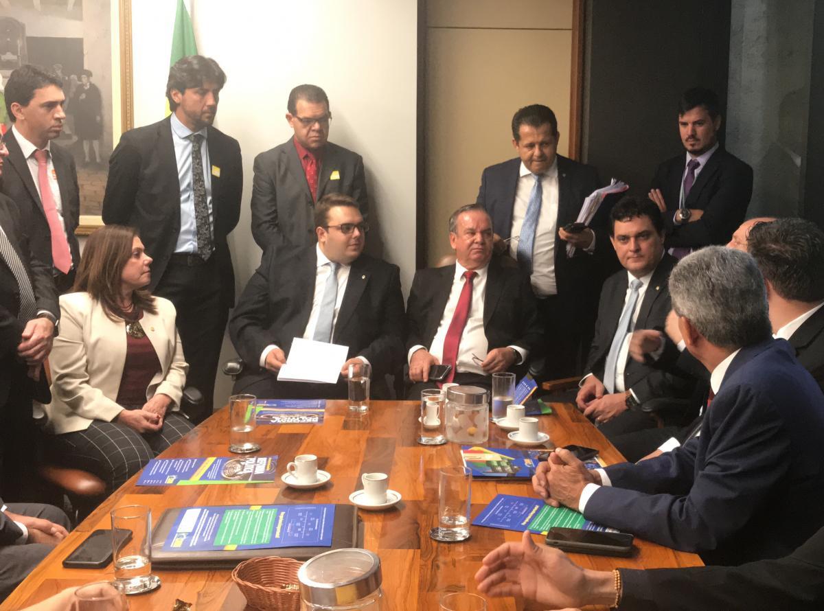 Entidades municipais cumprem movimentada agenda em Brasília