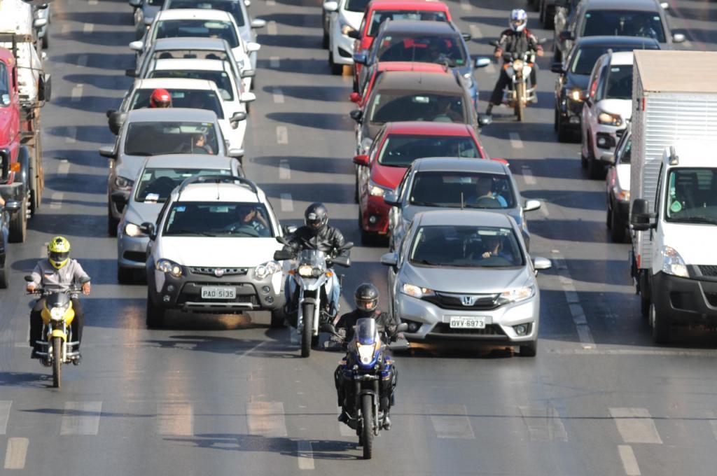 Em 20% dos municípios goianos a frota de motos é maior do que a de carros
