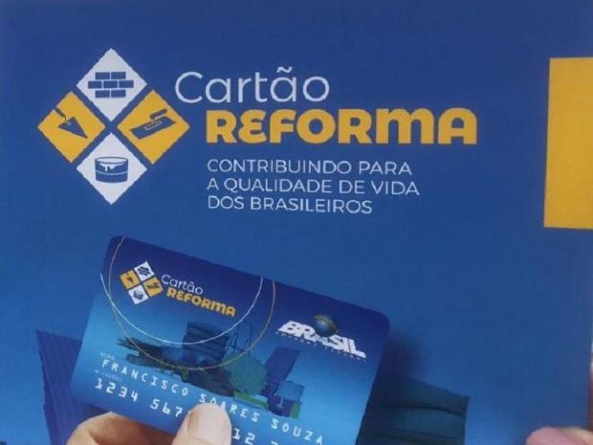 Liberado o Cartão Reforma para municípios em situação de emergência ou calamidade