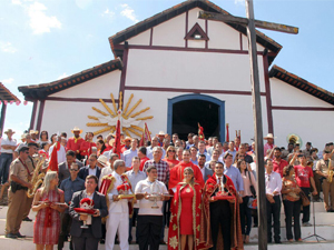 4º Encontro das Coroas do Divino Espírito Santo em Pilar de Goiás