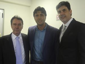 Paulo Sergio prestigia posse do novo secretário de Desenvolvimento