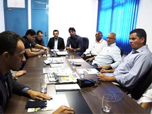 Prefeito e vereadores de São Simão visitam a AGM