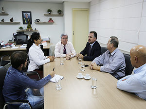 Presidente da AGM se reúne com secretários
