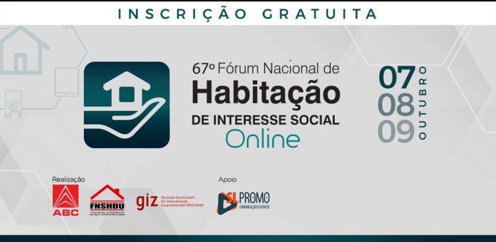 Fórum nacional virtual de habitação discute retomada de investimentos em construção de moradias