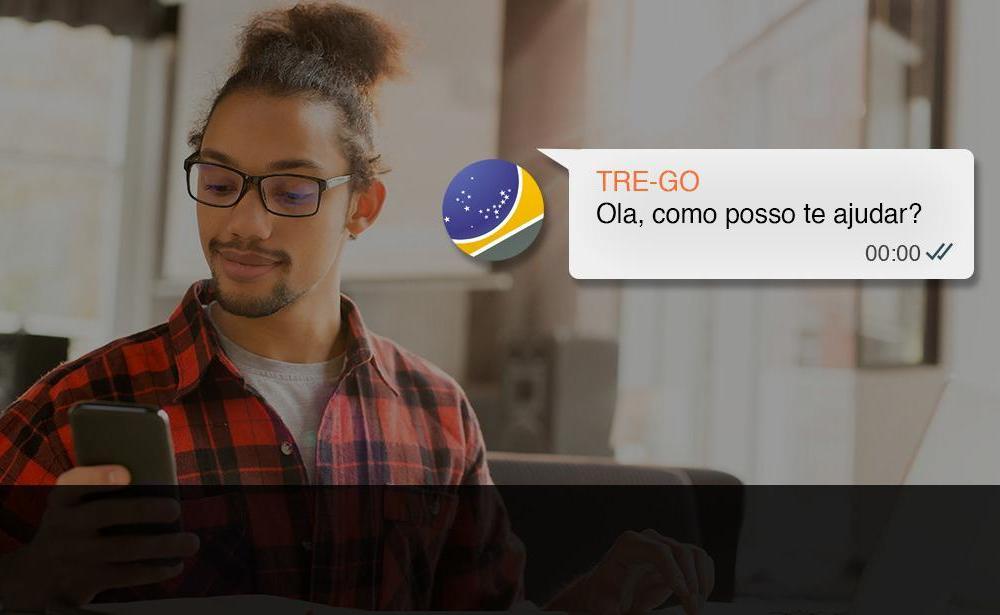 Cartórios eleitorais do Estado de Goiás atendem cidadão por WhatsApp