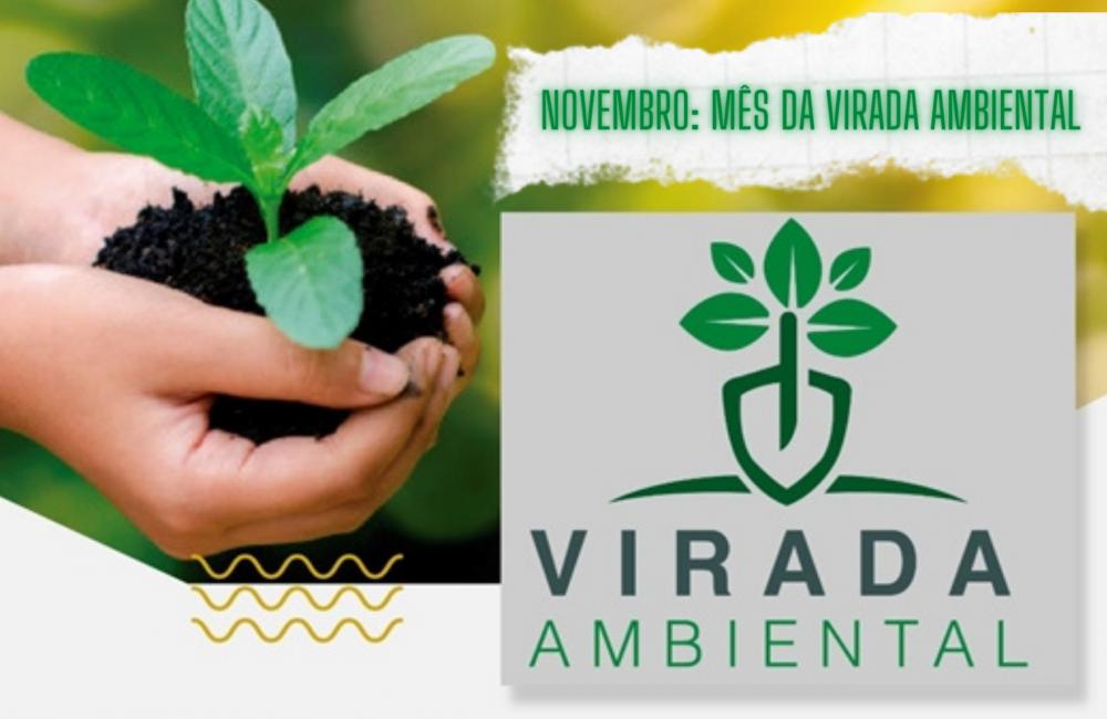 Novembro: mês da Virada Ambiental