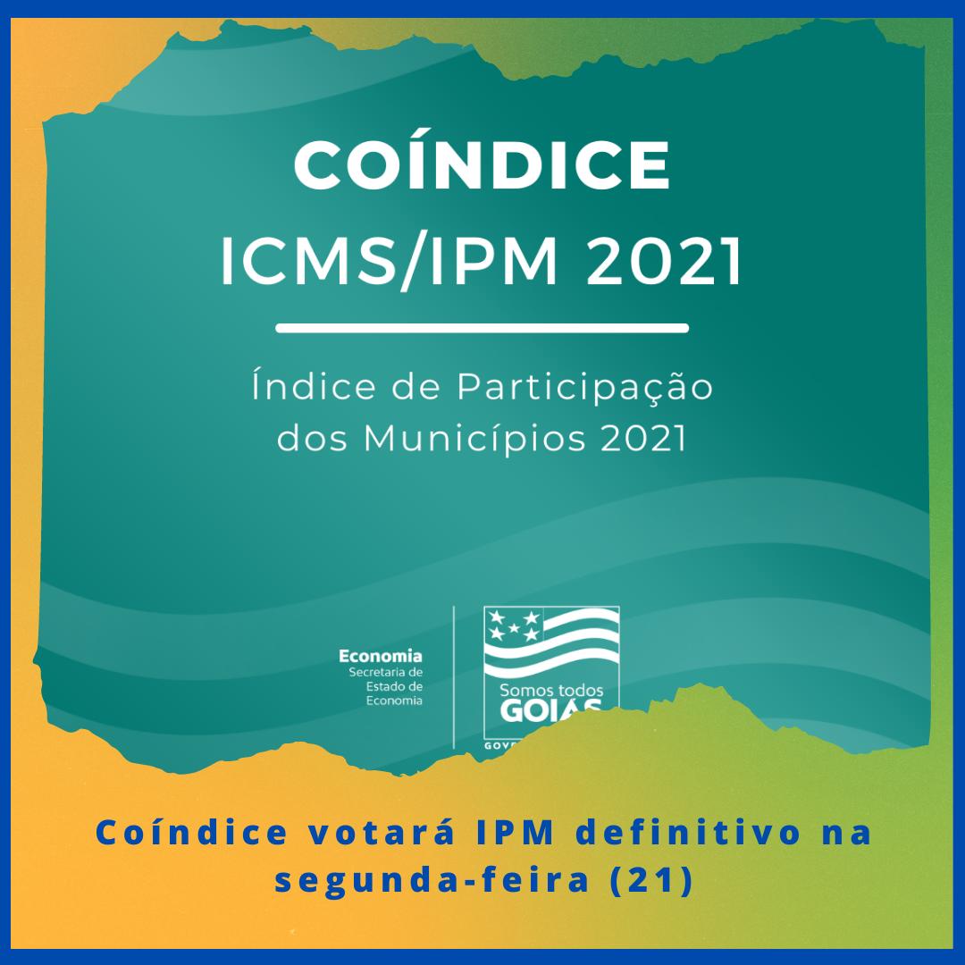 Coíndice votará IPM definitivo na segunda-feira (21)