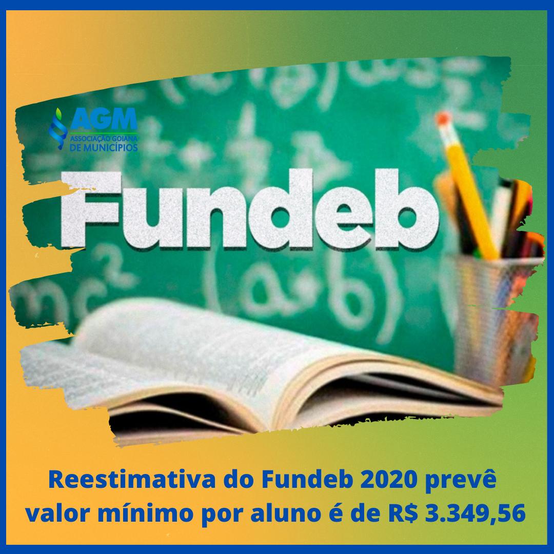 Reestimativa do Fundeb 2020 prevê valor mínimo por aluno é de R$ 3.349,56