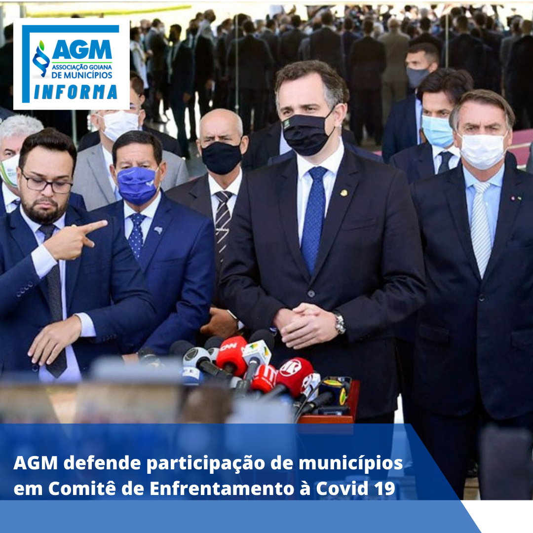AGM defende participação de municípios em Comitê de Enfrentamento à Covid 19