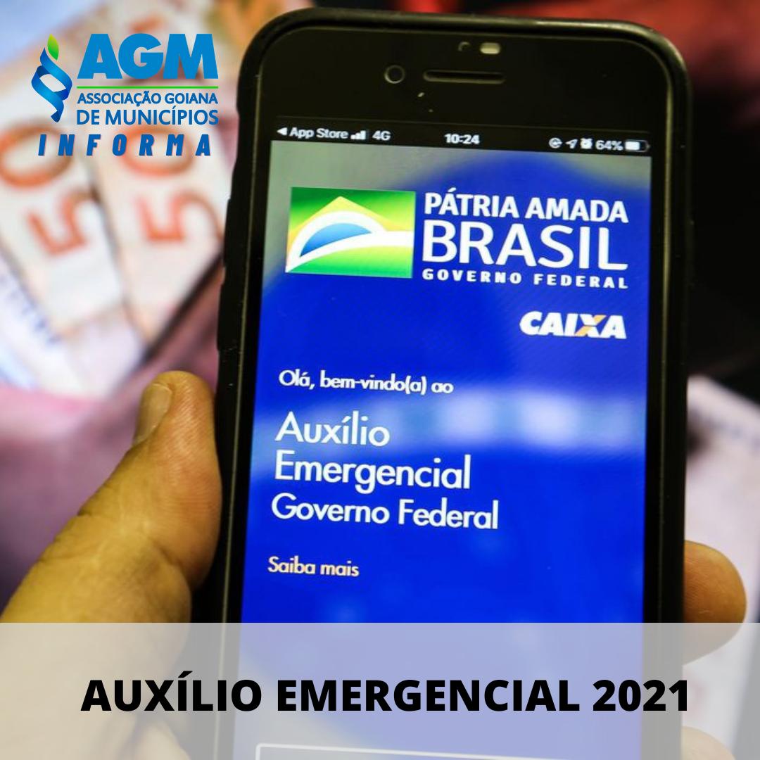 Medida provisória traz regras para o pagamento do novo auxílio emergencial