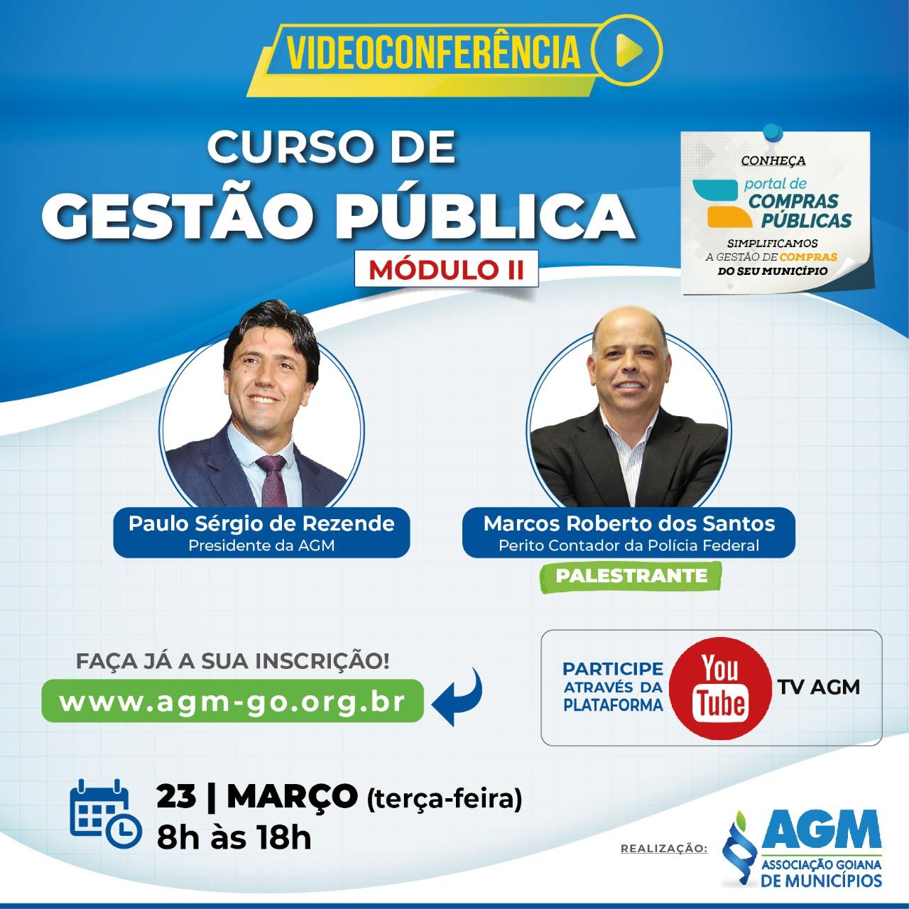 CURSO GESTÃO PÚBLICA MUNICIPAL – MÓDULO II