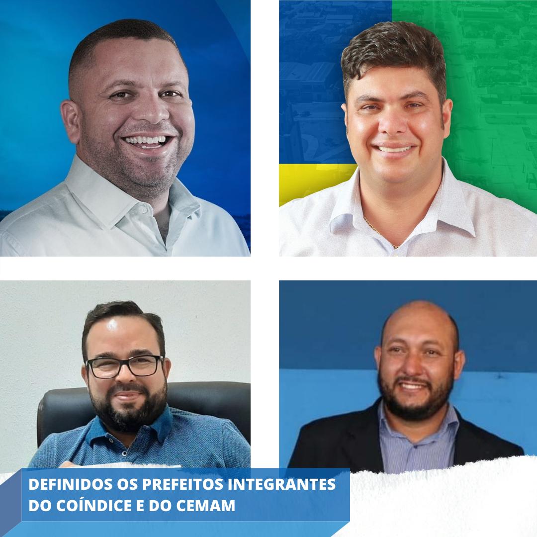 Definidos os prefeitos novos integrantes do Coíndice e do CEMAM