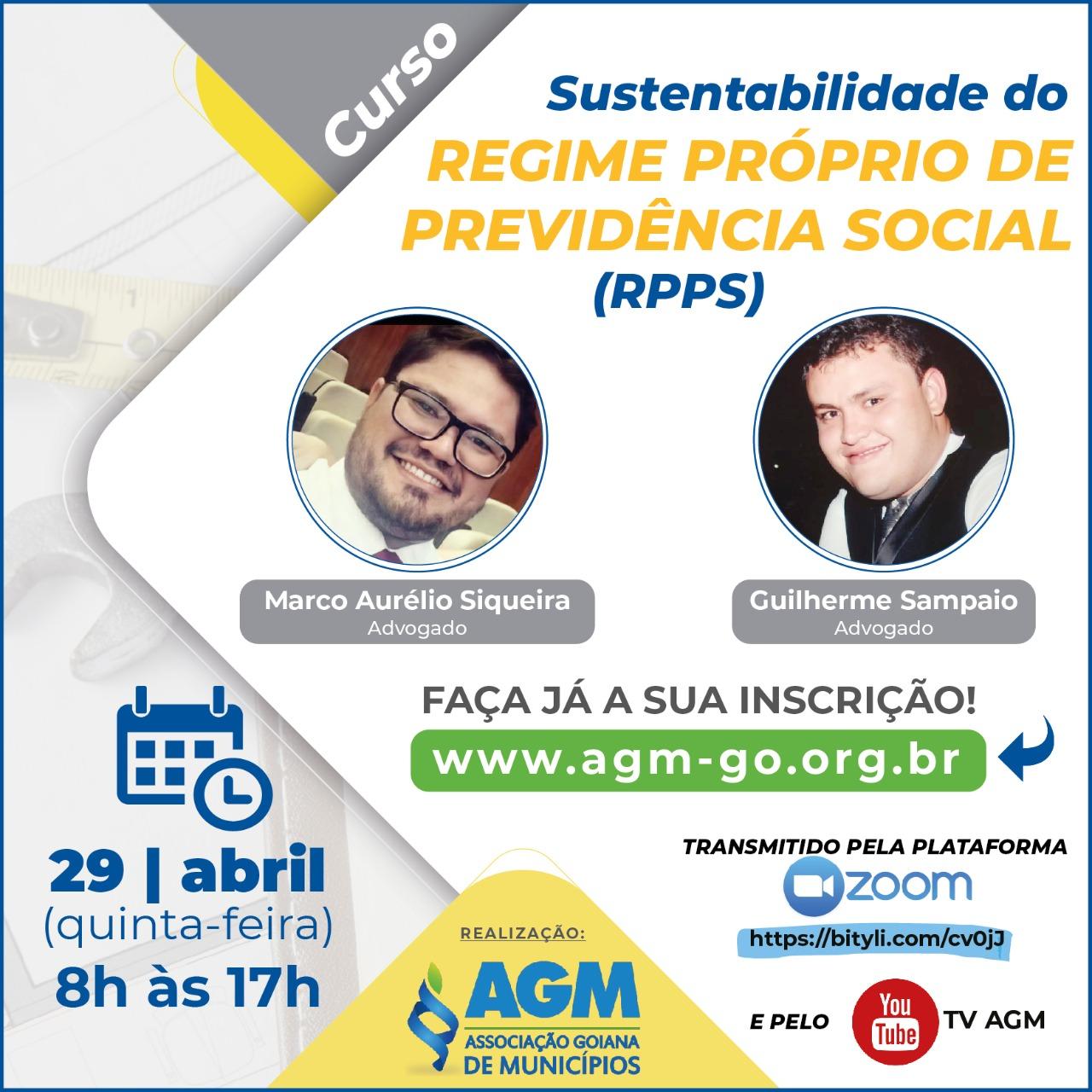 """""""Sustentabilidade do Regime Próprio de Previdência Social"""""""