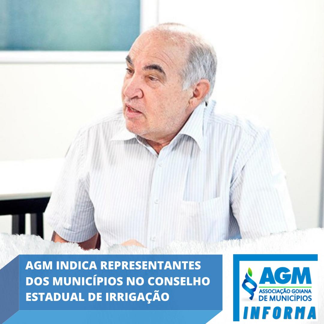 AGM indica representantes dos municípios no Conselho Estadual de Irrigação