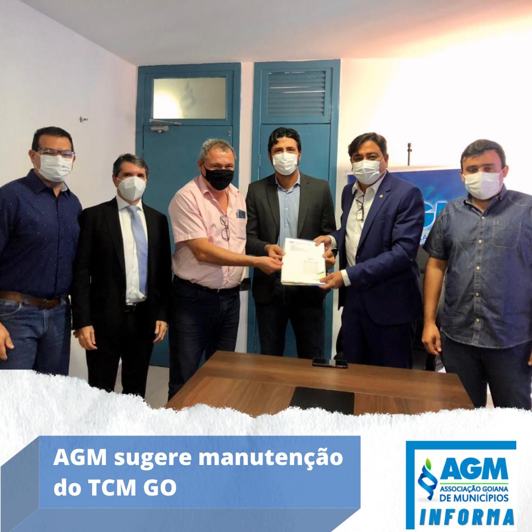 AGM sugere manutenção do TCM GO