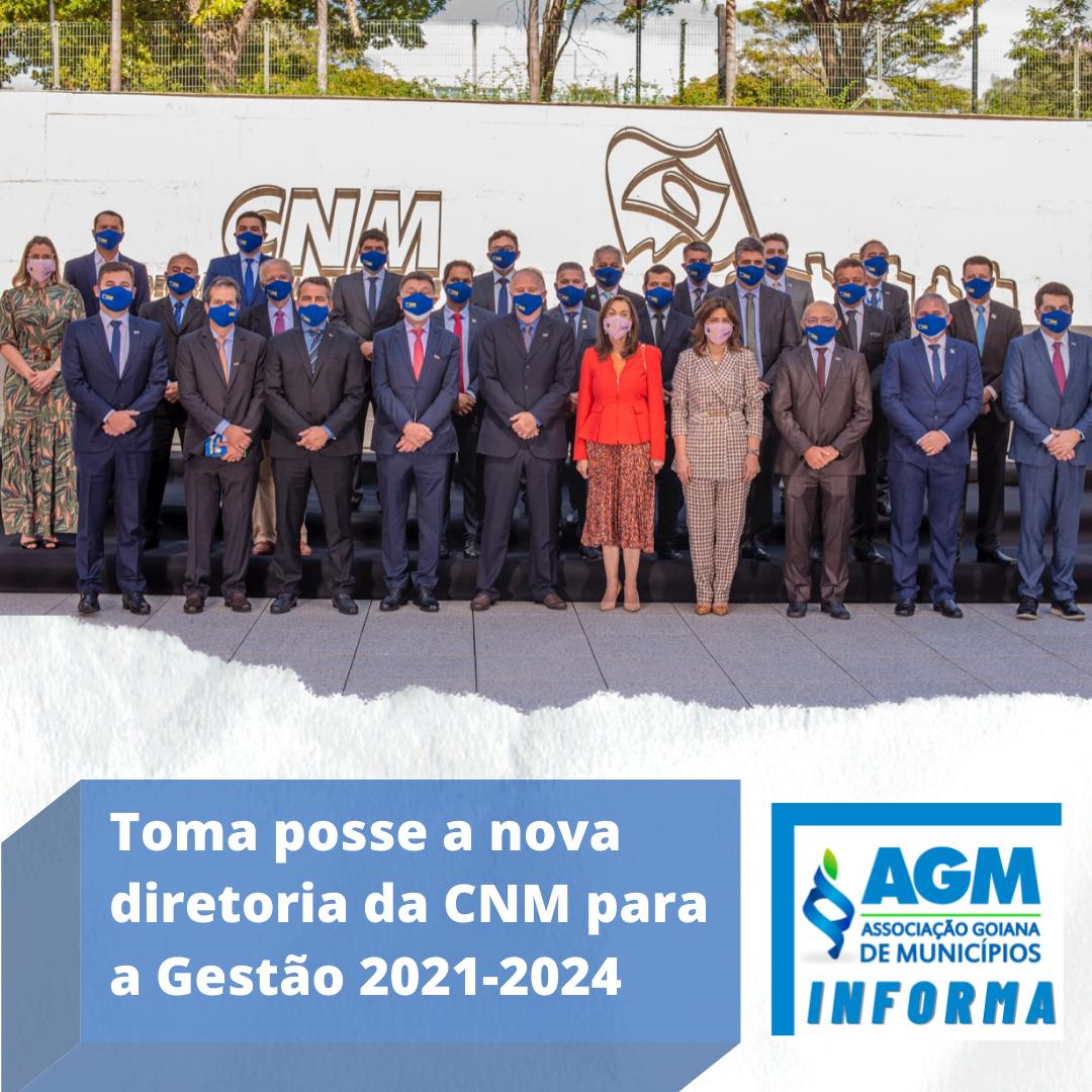 Toma posse a nova diretoria da CNM para a Gestão 2021-2024
