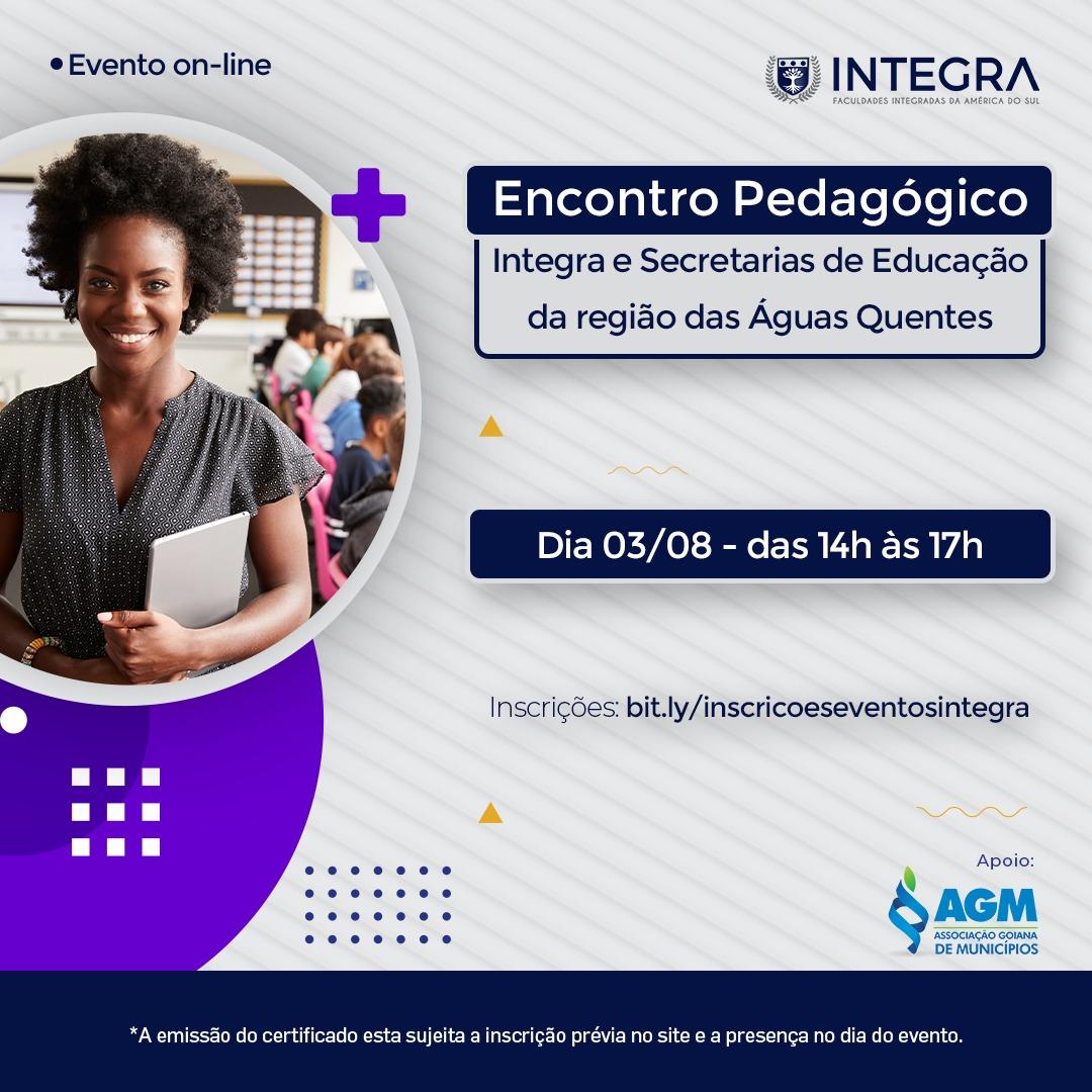 Encontro Pedagógico Integra e Secretarias de Educação da região das Águas Quentes