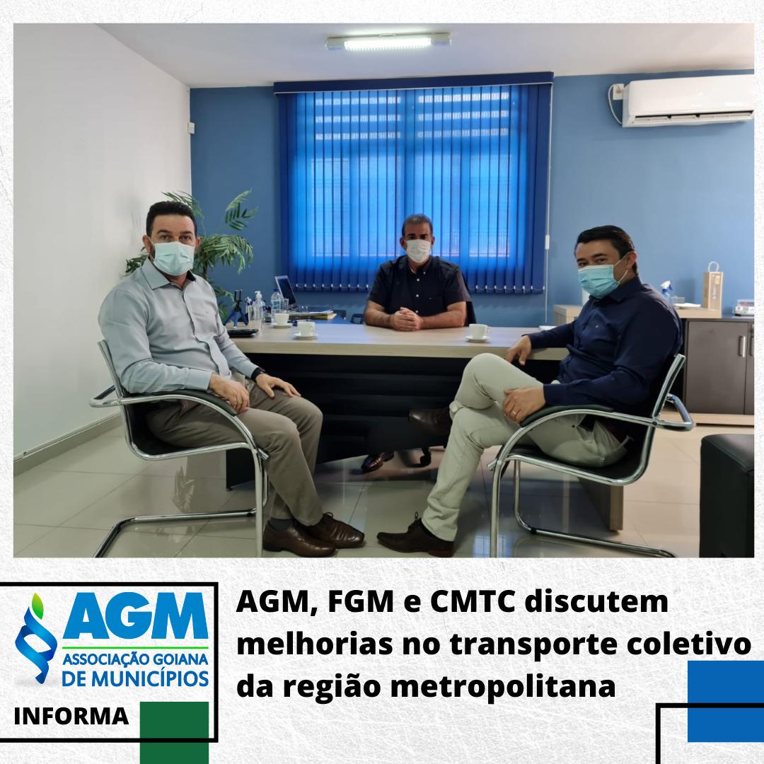AGM, FGM e CMTC discutem melhorias no transporte coletivo da região metropolitana