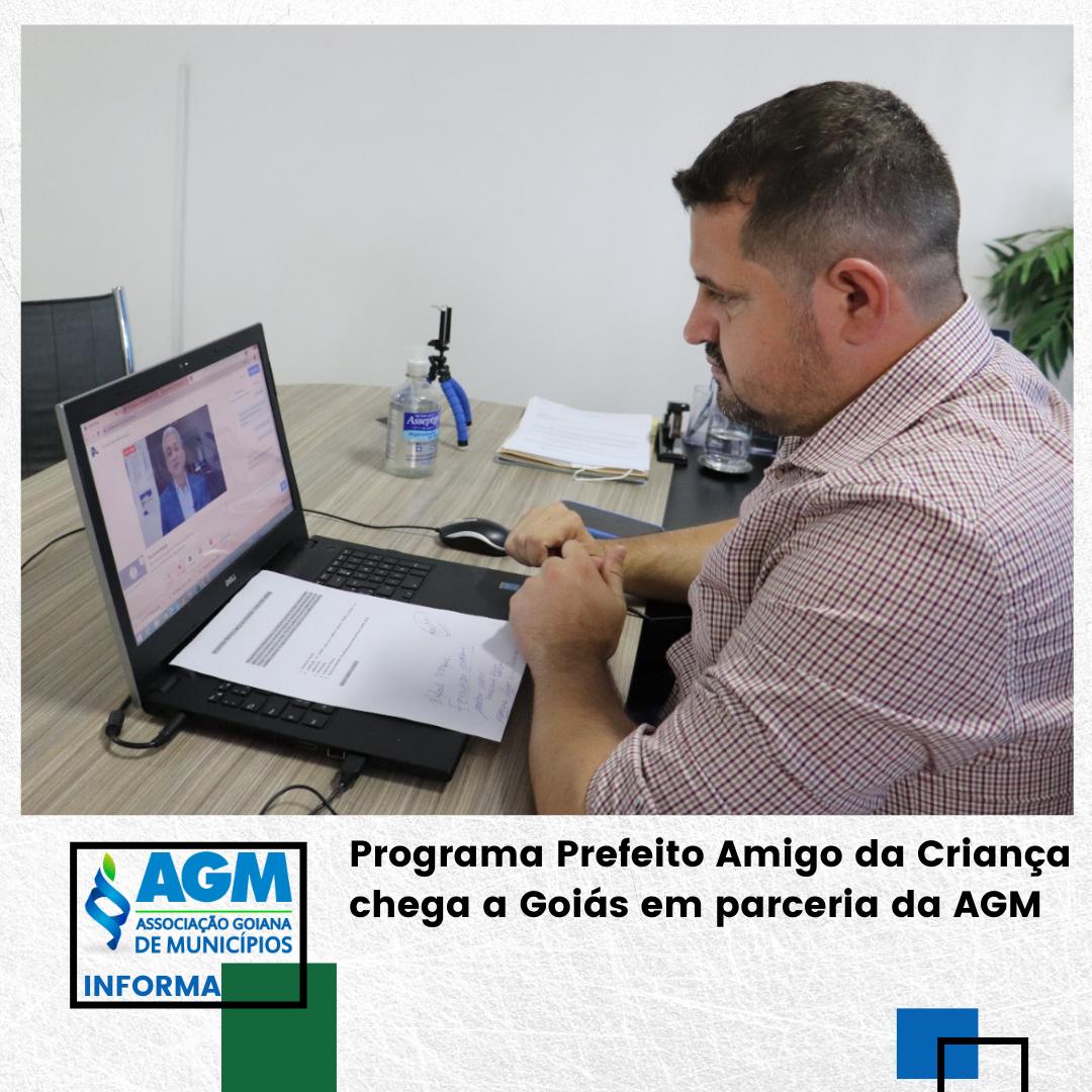 Programa Prefeito Amigo da Criança chega a Goiás em parceria da AGM