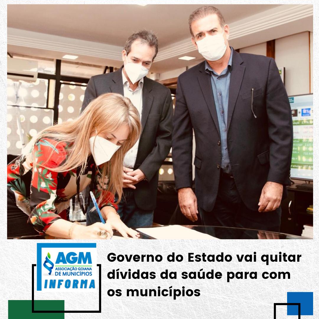 Governo do Estado vai quitar dívidas da saúde para com os municípios