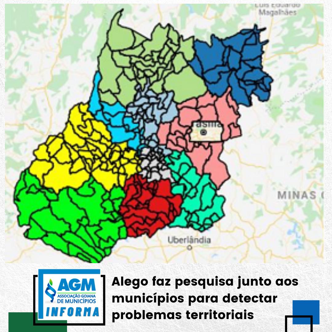 Alego faz pesquisa junto aos municípios para detectar problemas territoriais