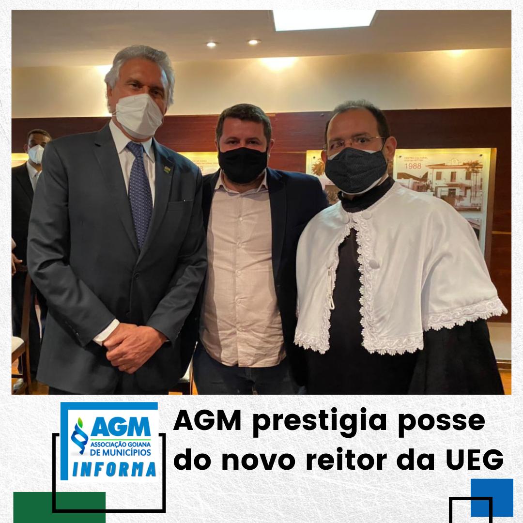 AGM prestigia posse do novo reitor da UEG