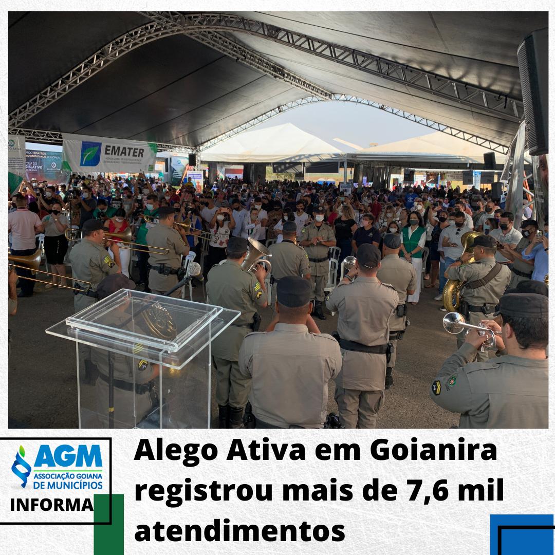 Alego Ativa em Goianira registrou mais de 7,6 mil atendimentos