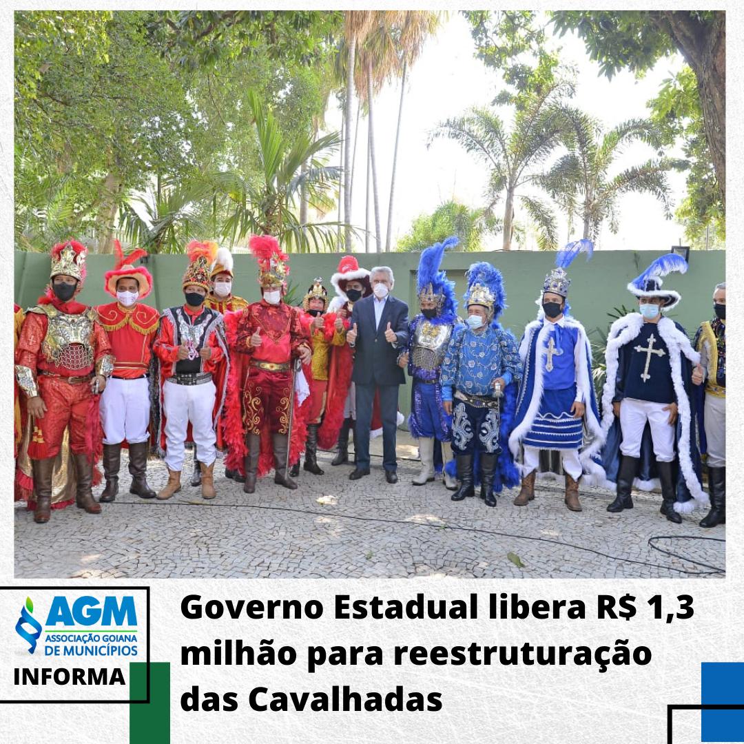 Governo Estadual libera R$ 1,3 milhão para reestruturação das Cavalhadas