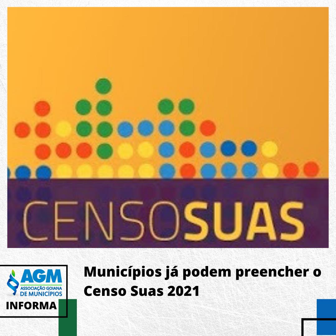 Municípios já podem preencher o Censo Suas 2021
